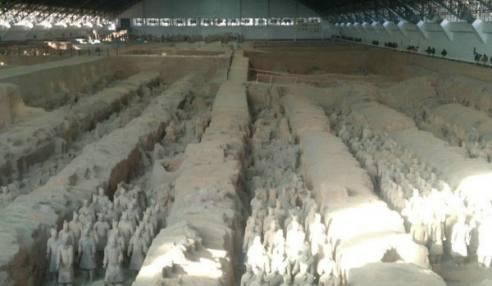 陕西旅游相册|西安华清池|兵马俑|乾陵|半坡|华山|黄帝陵|延安旅游景点图片