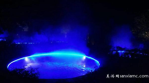 武陵峡温泉夜景 (1)