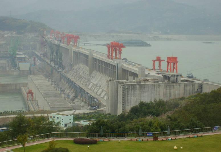 三峡大坝风景区宜昌旅游核心地区