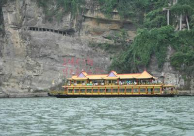 西陵画廊系列游船 宜昌-三峡大坝两坝一峡航线  美游网两坝一峡游船中心