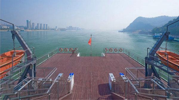 长江三峡五号游轮