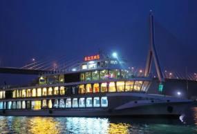 宜昌长江夜游船票(三峡八号系列游轮,宜昌到葛洲坝航线)