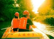 宜昌远安三峡水乡彭家湾漂流开业啦,国内首创家庭漂四季漂流景点