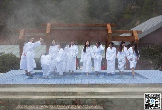 武陵峡口温泉度假区、宜昌远安武陵峡峡谷风景区