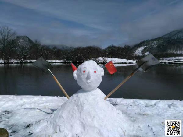 雪后大九湖9
