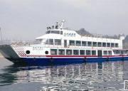 高峡平湖二号游轮(宜昌太平溪-峡口神农架航线船进神农架)