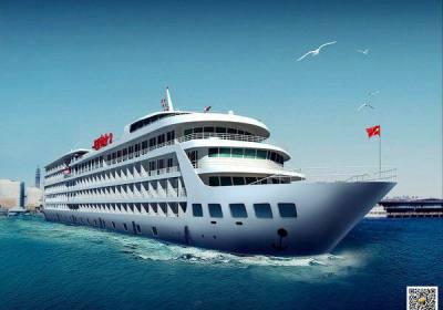 华夏神女二号游轮,宜昌到重庆长江三峡旅游豪华游船神女2号系列
