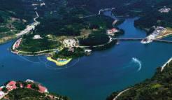 天龙湾风景区图片|宜都清江百岛湖|清江渔歌游船|天龙湾高尔夫俱乐部