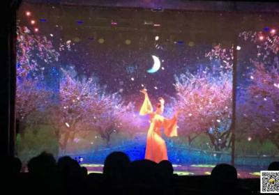 宜昌夜游西陵峡三游洞5月份特价促销,欣赏三游洞互动光影秀和舞台剧