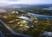 洈水风景区汽车露营基地、船游洈水湖