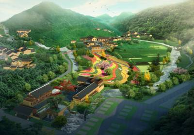 宜昌长阳卓尔国际旅游区核心景区木桥溪生态旅游区、向日岭山地度假区、火烧坪养生度假区