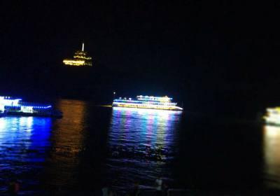 宜昌长江夜游增加至喜长江大桥灯光