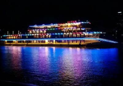 宜昌长江夜游开通两年来累计接待游客26万人,宜昌夜游船长江三峡八号