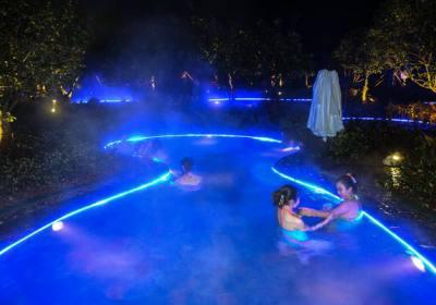 宜昌到远安武陵峡温泉旅游冬泡温泉注意事项,健康享受温泉浴
