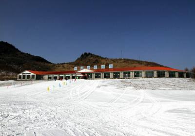 神农架国际滑雪场,南方最大的滑雪胜地,神农架旅游