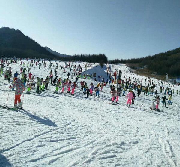 神农架滑雪场实景1