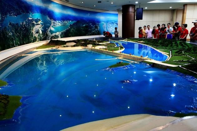 三峡大坝模型室