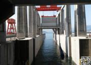 2018春节三峡升船机旅游特别航次,乘升船机过三峡大坝体验游