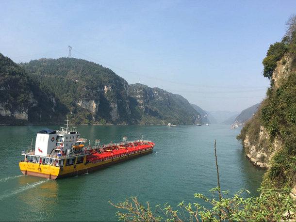 宜昌三峡西陵峡口
