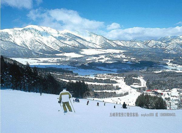 五峰滑雪场规划图5