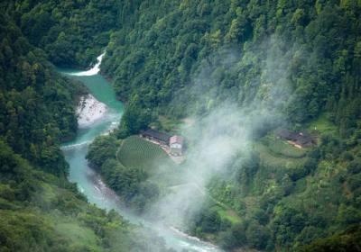 湖北五峰百溪河国家湿地公园,宜昌湿地旅游景点百溪河