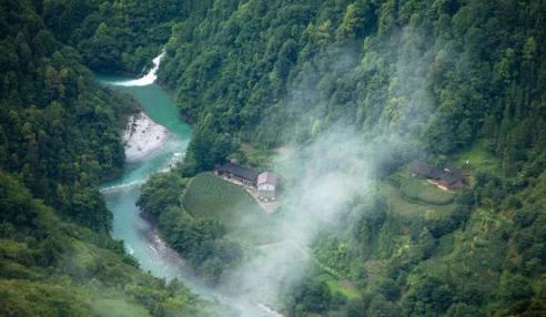 湖北五峰百溪河国家湿地公园