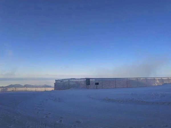 五峰滑雪场实景3