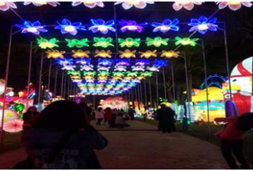 2019宜昌旅游首个节庆活动迎春灯会1月28日开幕,千盏花灯点亮宜昌