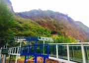 宜昌武陵峡口风景区开通网红漂玻璃滑道空中漂流5月25日正式开业