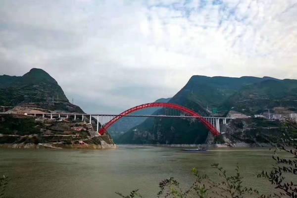 秭归长江大桥4