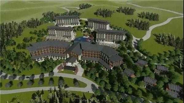 绿葱坡滑雪场酒店