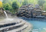 远安武陵峡温泉节启动,宜昌地热温泉武陵峡温泉三号井出水