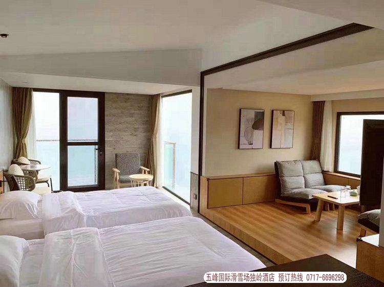 五峰滑雪场独岭酒店2