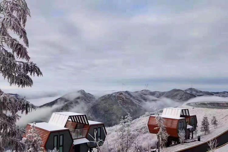 独岭雪景2