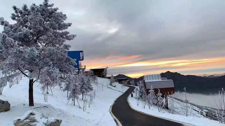独岭雪景5
