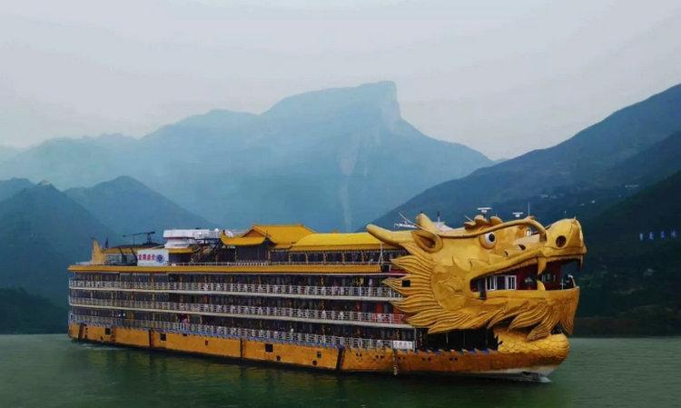 皇家盛世号 宜昌到重庆长江三峡回来