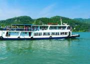 宜昌船进三峡人家一日游恢复运行,两坝一峡在人家
