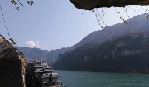 两坝一峡风景(宜昌三峡西陵峡)