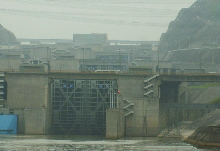 三峡大坝图7五级船闸