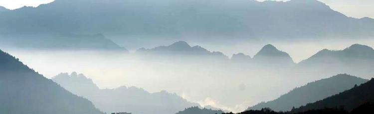 神农顶 神农架的山和云海