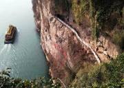 西陵峡风景区三游洞世外桃源三峡猴溪,宜昌两坝一峡旅游山水画廊