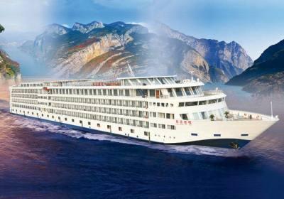 长江二号游船,宜昌到重庆长江三峡旅游长海游轮