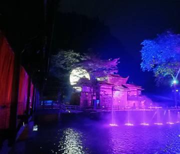 梦回车溪演出9月10日盛大回归,宜昌到车溪夜游直通车开始发班