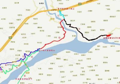 重庆出发怎么到奉节新高湖游轮码头 新高湖奉节七号桥码头