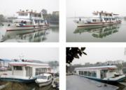 乘船游览漳河水库风景区,拜双面观音
