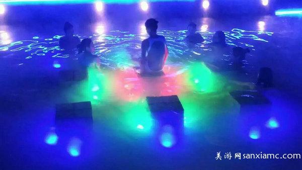 武陵峡温泉夜景 (11)