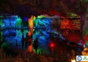 艺术迷宫金狮洞,宜昌晓峰风景区旅游景点
