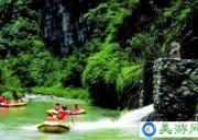 青龙峡原生态漂流风景区  宜昌漂流旅游景点青龙峡
