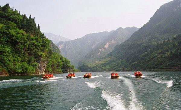 宜昌筹建湖北秭归九畹溪国家湿地公园,为九畹溪漂流所在河段