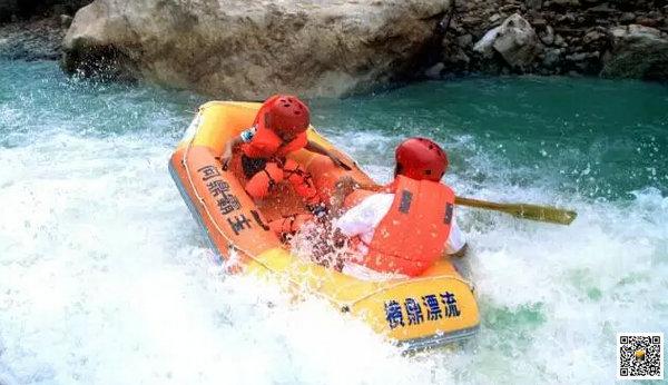 远安横鼎漂流5月底开业,为宜昌落差最大的漂流景区,惊险刺激就去横鼎漂流